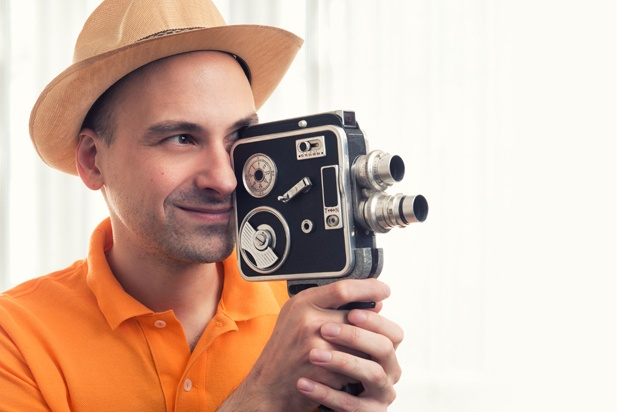 This is a film camera, not a video camera